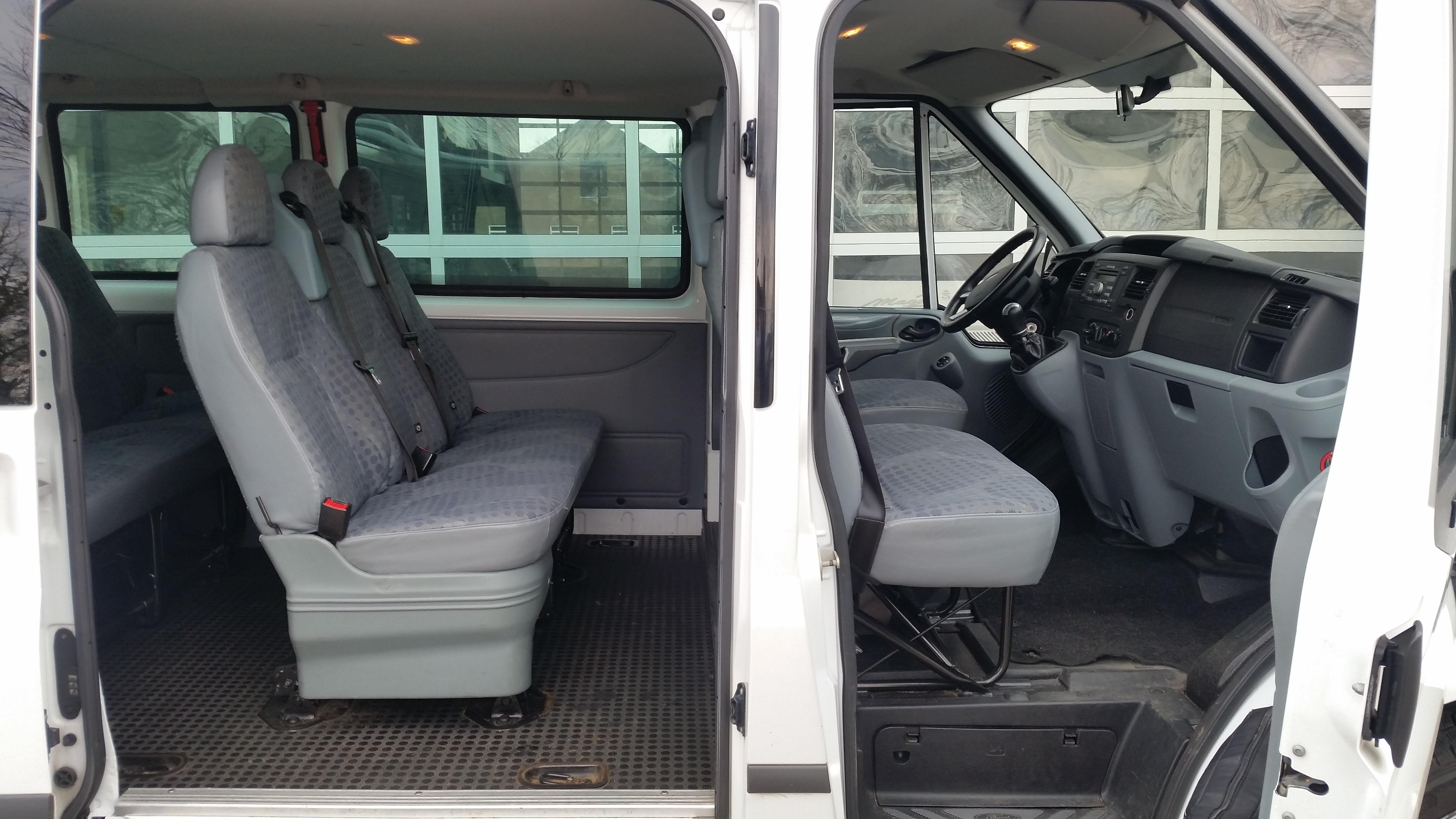Ford Transit 350 >> Huurbus