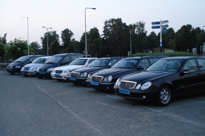 Diverse modellen 4 a 5 pers. taxis